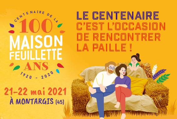CNCP-centenaire-de la maison Feuillette 21 et 22 mai 2021 à Montargis