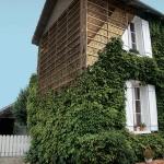 Photo montage de la structure de la maison Feuillette