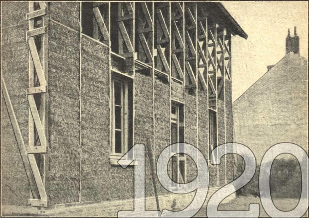 La maison Feuillette en 1920