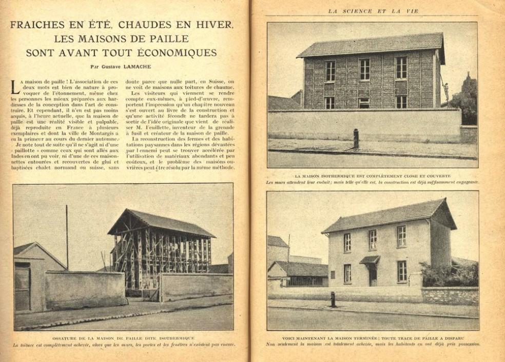 """Extrait """"La science et la vie"""" n°56, mai 1921"""