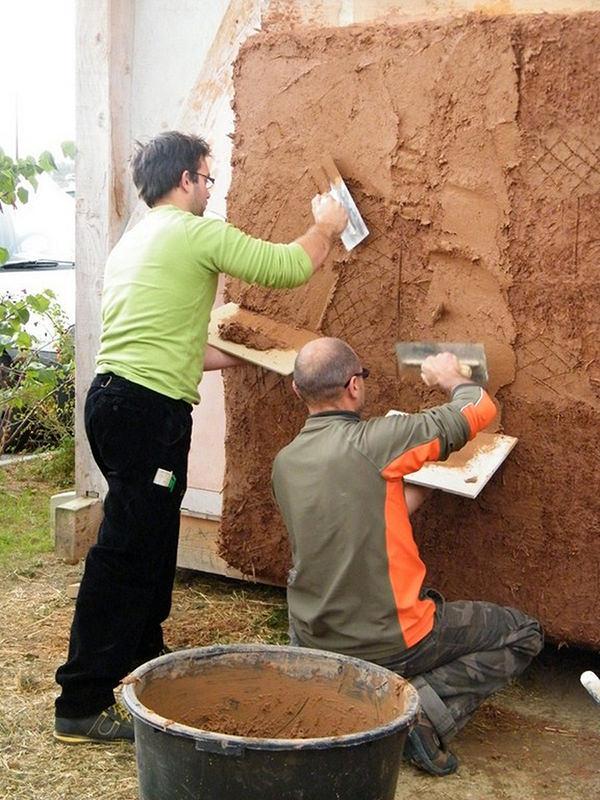 Application sur un mur