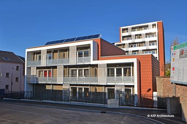 Résidence HLM - ASP Architecture