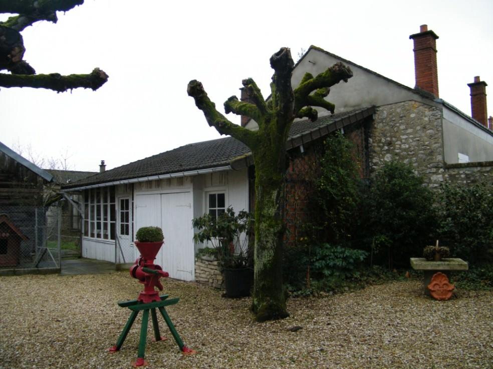 Le jardin de la maison Feuillette