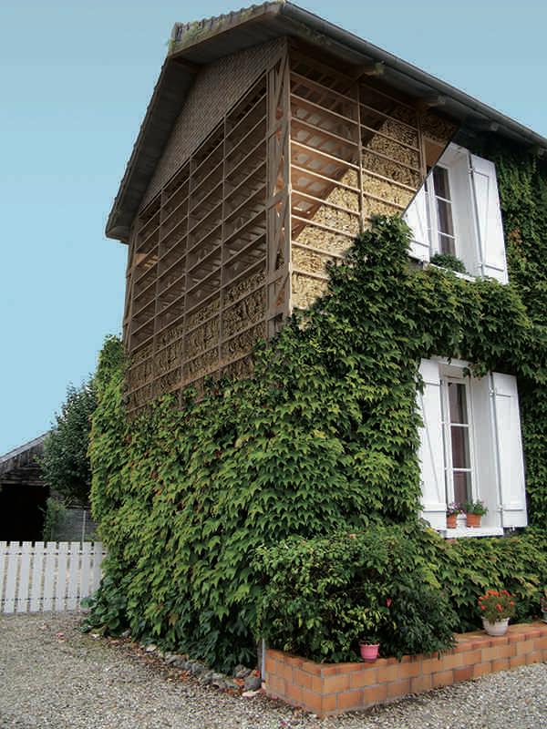 Structure de la maison Feuillette